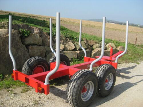 Holz Rückewagen Bauanleitung mit Plan