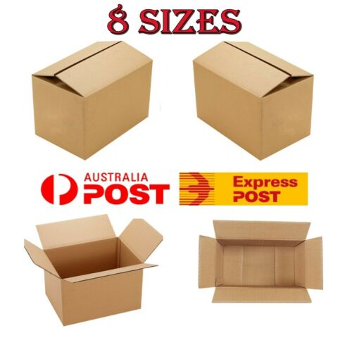 New Mailing Box Packing Box Paper Mailer Shipping Box Cardboard 8 Size Brown