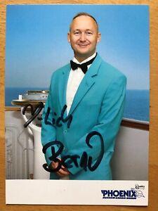 Bernd-Wallisch-Ak-Ard-Verruckt-selon-Mer-Carte-Autographe-Original-Signe