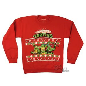 Teenage Mutant Ninja Turtles Ugly Christmas sweater Crew Neck ...
