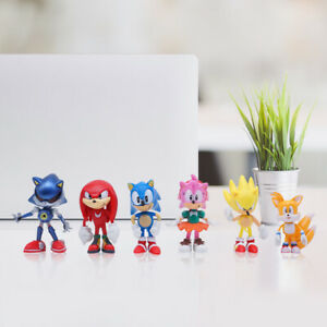 6PCS-Sonic-The-Hedgehog-Action-Figure-Toy-Set-Collection-Kids-Toy-USA-SELLER