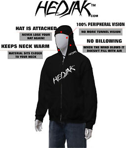 HEDJAK-Safety-Hoodie-Black-Hooded-Sweatshirt-Youth-and-Adult