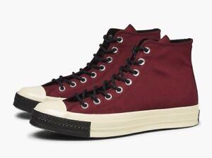 91d665eaced48 Converse Chuck Taylor All Star 70 HI Dark Burgundy Red Hi Sneaker ...