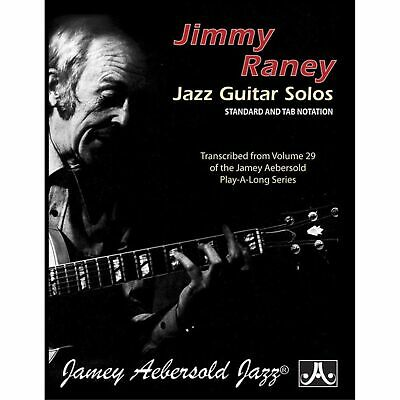 Jimmy Raney Jazz Guitar Solos Standard and TAB Notation