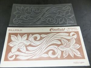 Vintage CRAFTAID Billfold Templates Leather Multiple choices