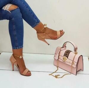 Purse Sets Matching Shoes Bag Set Heels
