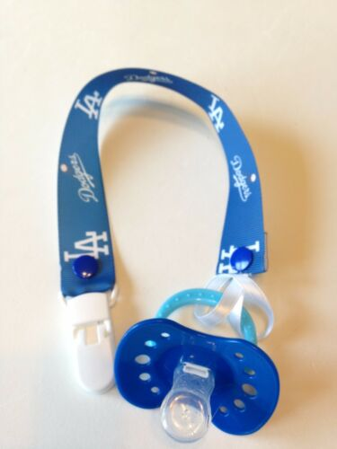 A/'s Handmade Pacifier Holder Astros Giants Baseball Cubs Red Sox Braves