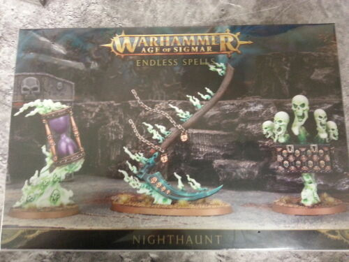 NEW AND SEALED WARHAMMER AGE OF SIGMAR ENDLESS SPELLS NIGHTHAUNT