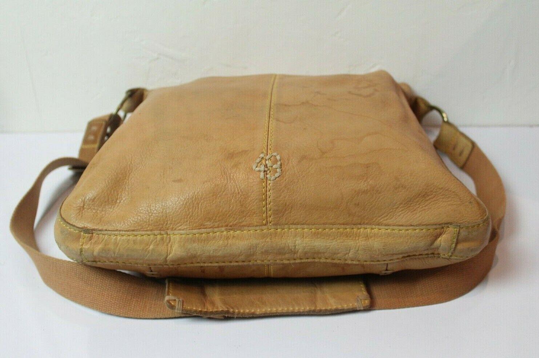 49 Square Miles Tan Leather Bag Hobo Large Bag - image 4