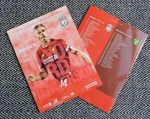 Liverpool-v-Norwich-City-Matchday-Programme-9-8-2019-FREE-POSTAGE-WITHIN-U-K