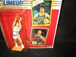 Starting Lineup 1990 Chris Mullin Figure New MOC GS Golden State Warriors Card