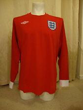"England 2010 - 2011 Long Sleeve Away Shirt by Umbro  - BNWT (44"" Chest)"