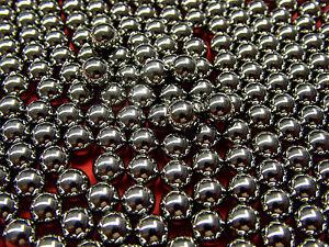 2,5 mm 100 Stahlkugeln Kugeln Kugellagerkugeln 2,5mm
