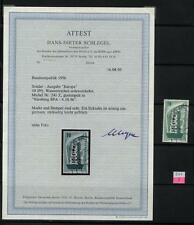 "BRD 241 Z, 1956, Wasserzeichen Z, Fotoattest ""Schlegel"",  Mi 4000.-  #l899g"