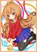 (60)mtg Wow Yugioh Anime Toradora Tiger×dragon Aisaka Taiga Card Sleeves 67×92mm