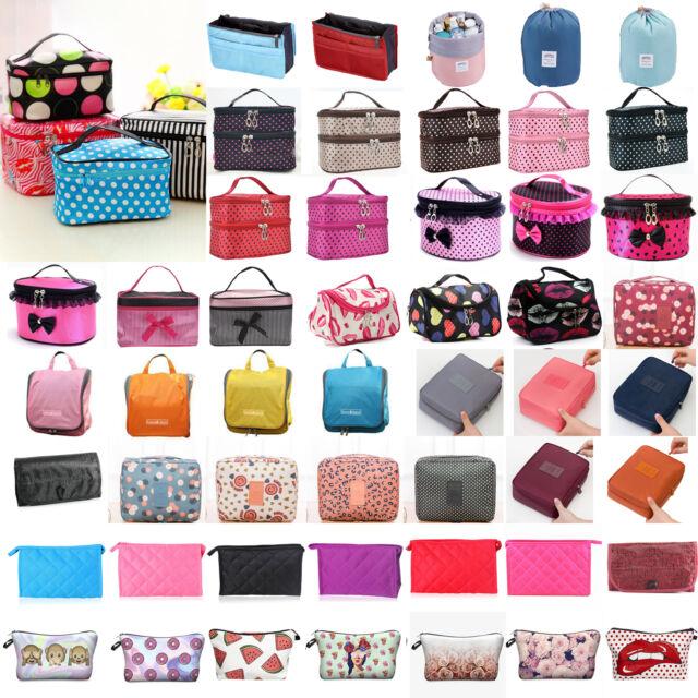 Women Makeup Cosmetic Organizer Case Travel Toiletry Wash Holder Storage Bag Box