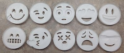 Emoji Face - Cookie Cutter - 3D Printed Plastic