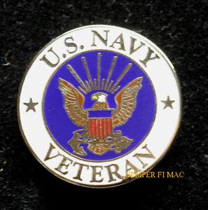f62173184ed US NAVY VETERAN HAT PIN UP GIFT LOGO CREST SEAL TOPGUN USN USS USN ...