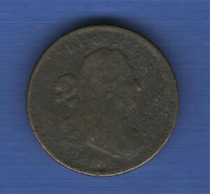 1804-Draped-Bust-Half-Cent-Plain-4-Stems-1-2c-BN-Early-Date-Copper