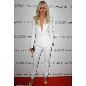 White Womens Formal Business Suits Work Female Office Uniform Ladies ... b2ace24a10