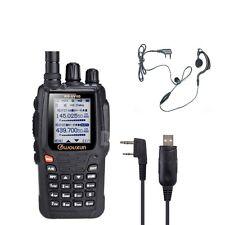 WOUXUN KG-UV8D BIBANDA VHF 5W +CABO PC + AURICOLARE VERS 1.05.RICETRASMITTENTE