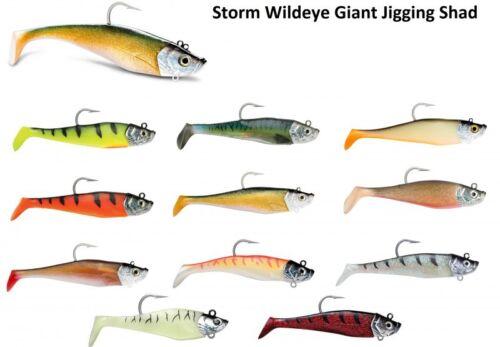 Storm Wildeye Giant Jigging Shad Gummifische fürs Meeresangeln Meeresköder