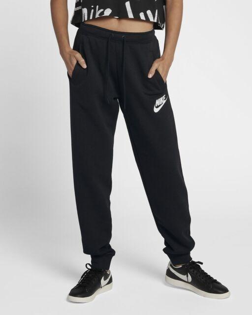 Nike Womens Plus Standard Fit Sweatpant Joggers With Pockets Black Size XXL