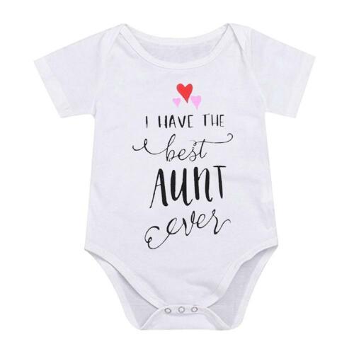 Cute Newborn Kids Baby Boy Girls Clothes Romper Bodysuit Outfit Sunsuit Jumpsuit