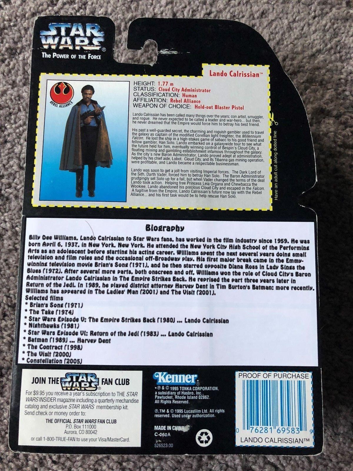 estrella guerras TPOTF LeO CALRISSIAN BOSTON BOSTON BOSTON SUPER MEGAFEST 14 OF 25 fatto c9bc56