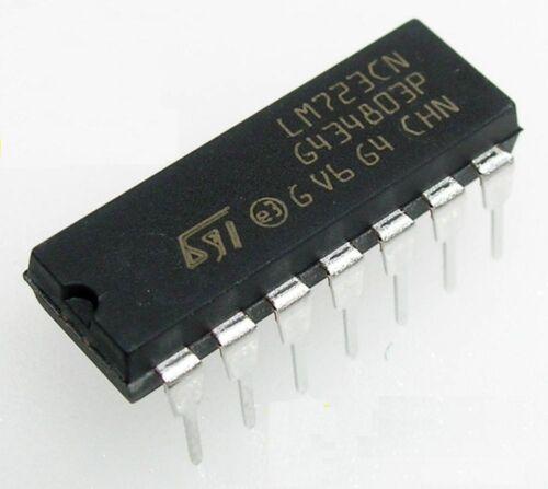 3PCS LM723 LM723CN DIP-14 IC Adj Voltage Regulator 2-37V NEW Z3