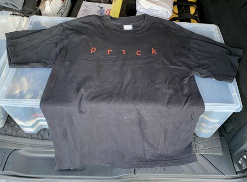 Vintage PRICK Band Music Original T Shirt Black, … - image 1