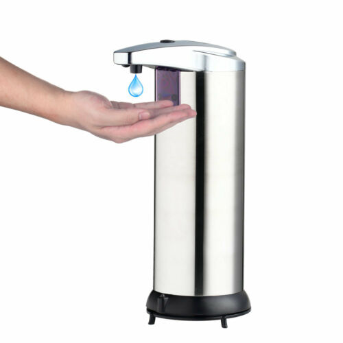 Automatic Sensor Touchless Soap Dispenser Wall Mounted Bathroom Kitchen use