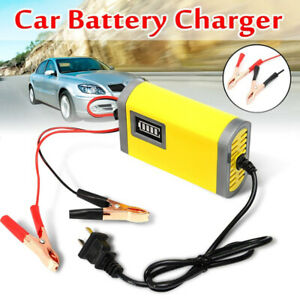 Car-Truck-Motorcycle-Battery-Charger-12V-2A-Full-Automatic-Smart-Power-Charger-lt