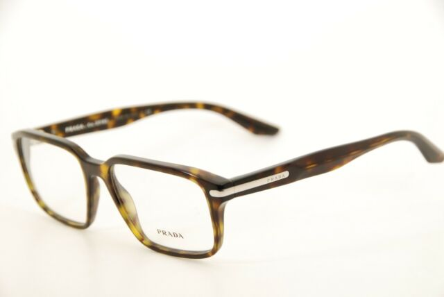 1d06e5ff0ea New Authentic Prada VPR09T 2AU-1O1 Havana 55mm Frames Eyeglasses RX Italy