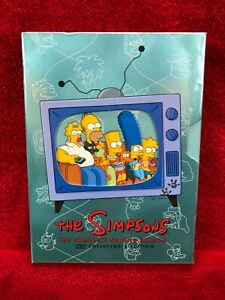 The-Simpsons-the-Complete-Second-Season-DVD-2002-4-Disc-Set