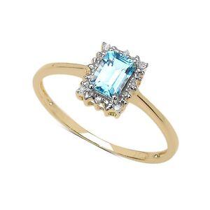 Plata-de-Ley-Chapada-en-Oro-Topacio-Azul-amp-Diamante-Anillo