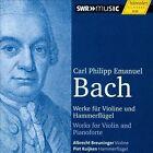 "C.P.E. Bach: Werke fr Violine und Hammerflgel (CD, Jan-2014, H""nssler Classic)"