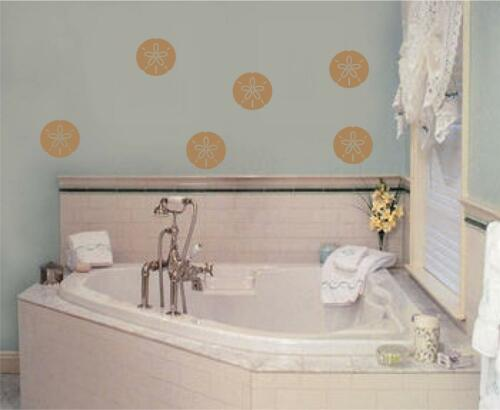 Sand Dollars Beach Decor Vinyl Decal Wall Stickers Words Letters Home Decor