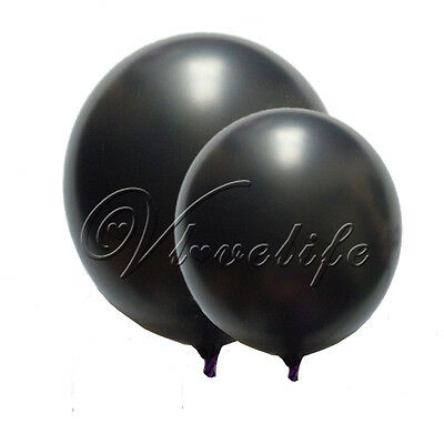 "12"" INCH LATEX HELIUM BALLOONS WEDDING PARTY BIRTHDAY SUPPLIES DECORATIONS AIR"