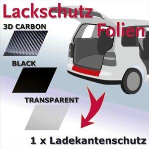 PEUGEOT Expert 3 Ladekantenschutz Lackschutzfolie Schutzfolie Carbon 3D 10147