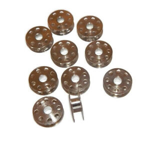 25 pcs INDUSTRIAL SEWING MACHINE BOBBINS FOR Singer 491,95,96,188K,191,241,251,