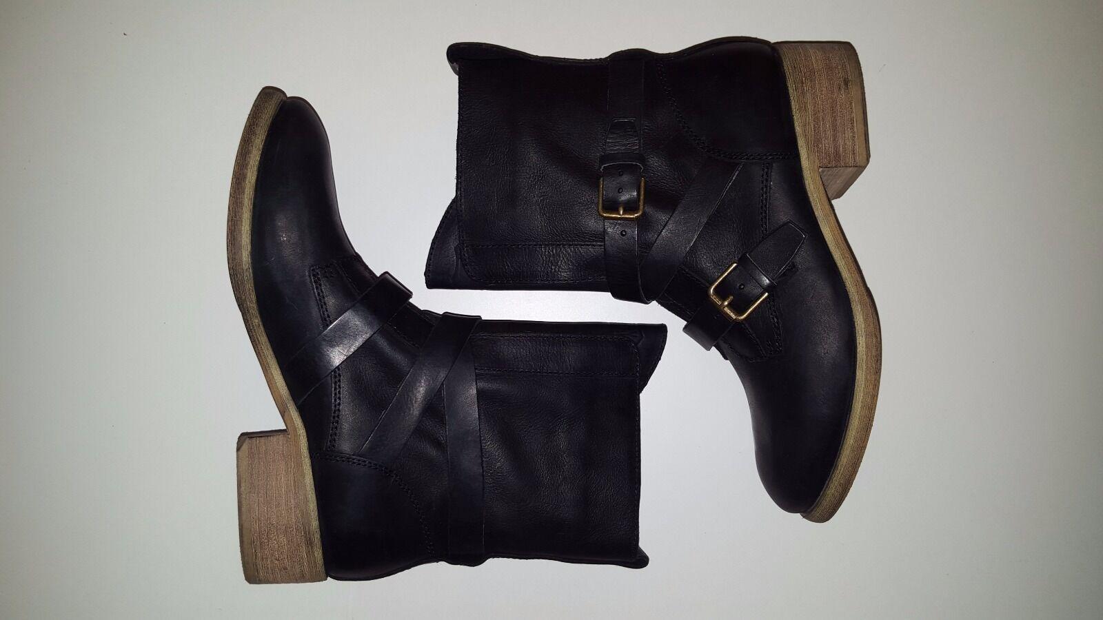 marchi di moda Donna  Denim Denim Denim & Supply Ralph Lauren Thea Buckled Leather avvio, Dimensione 8 -  79  consegna gratuita e veloce disponibile