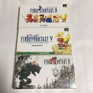 Nintendo-Super-Famicom-Games-Final-Fantasy-IV-V-VI-4-5-6-square-enix