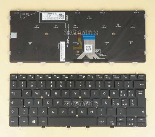 New For DELL XPS 9365 2 IN 1 Keyboard Italian Tastiera Backlit Black