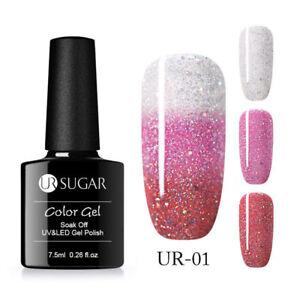 UR-SUGAR-7-5ml-Thermal-Color-Changing-UV-Gel-Polish-Soak-Off-Nail-Art-Varnish-1
