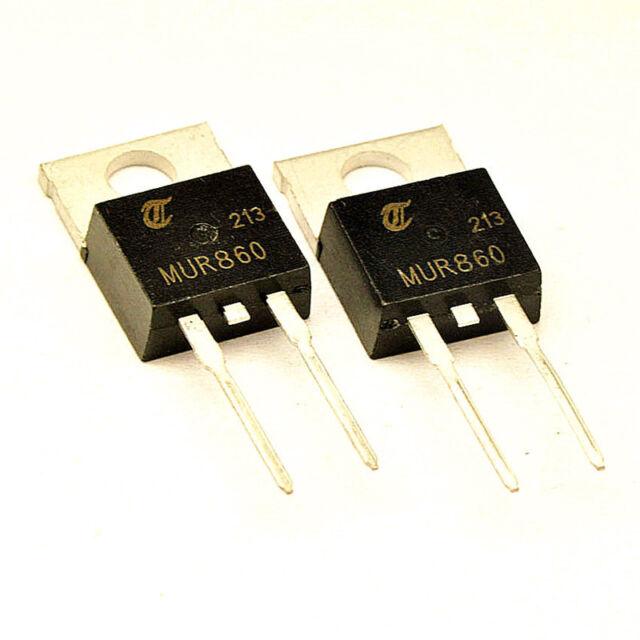 25PCS  Diode  MUR860 8A/600V TO-220 2PIN