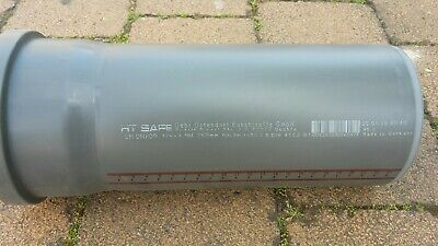 Ostendorf HTsafe HT-Rohr mit Muffe DN 75 mm 2000 mm