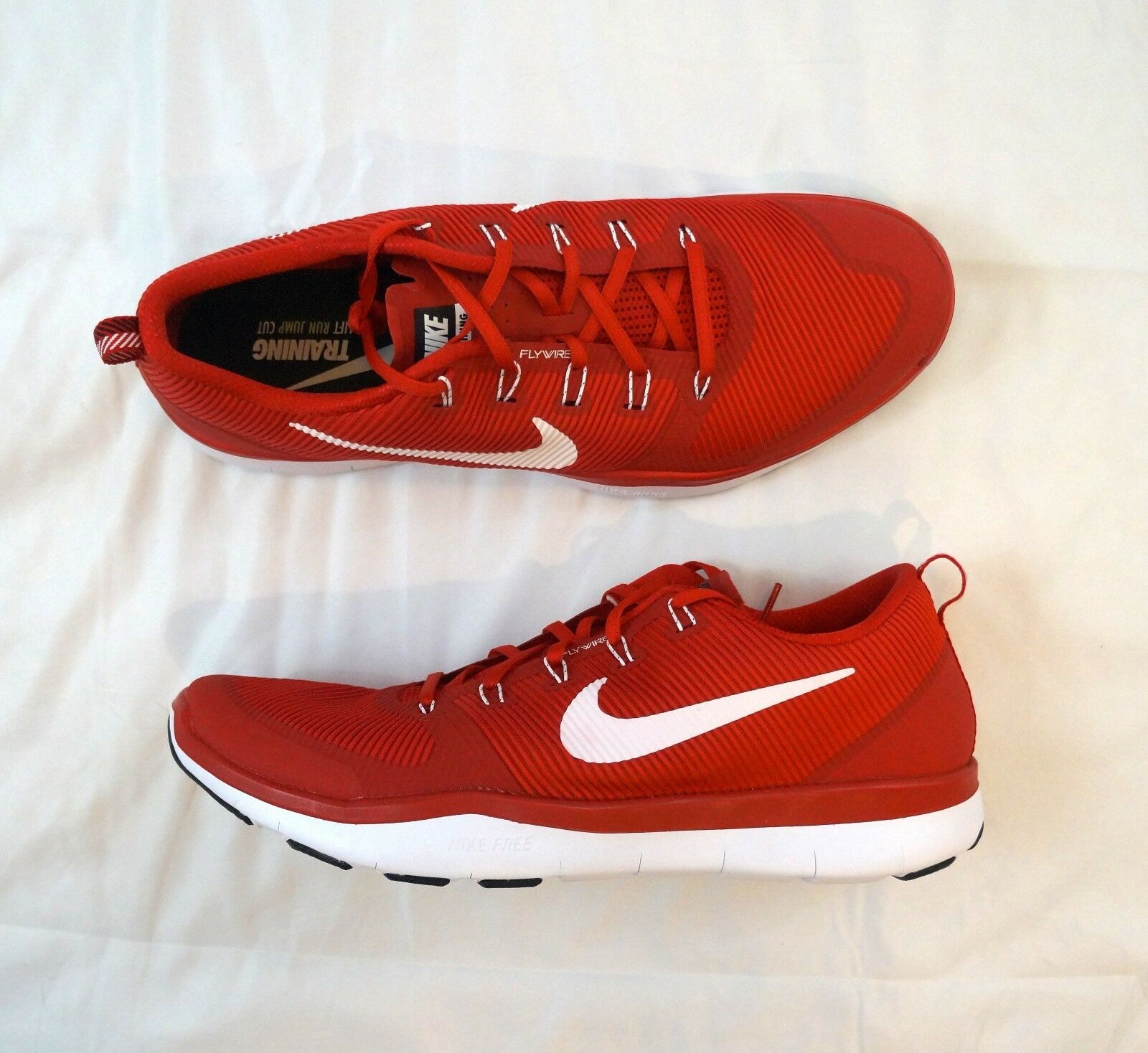 low priced 2dc39 f793f New Nike Free Train Versatility Training Mens Mens Mens Size US 18 Red White  833257