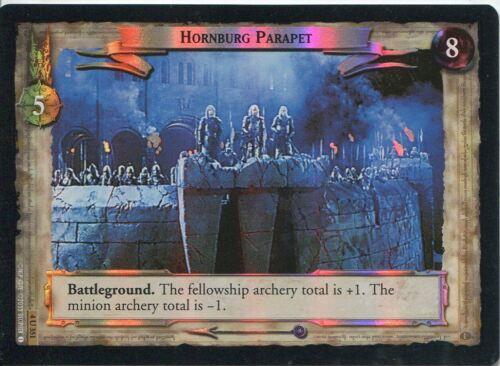 Lord Of The Rings CCG Foil Card TTT 4.U351 Hornburg Parapet