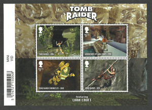 Gb 2020 Video Games Laura Croft Tomb Raider Animation M Sheet Mnh